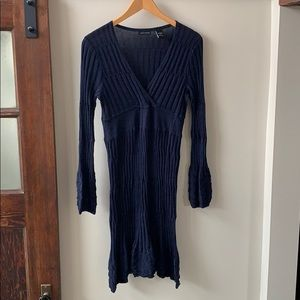 Moda International Empire Waist Knit Dress